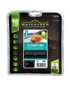 Wayfayrer Veg Curry and Rice Meal