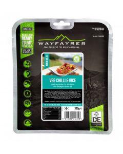 Wayfayrer veg chilli and rice meal