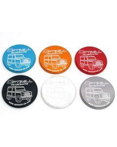 Aluminium Anodised Coasters