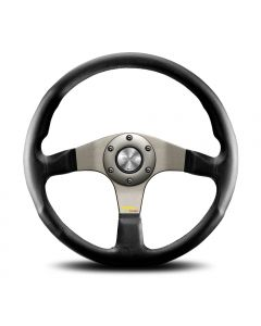 Momo Tuner Silver Steering Wheel