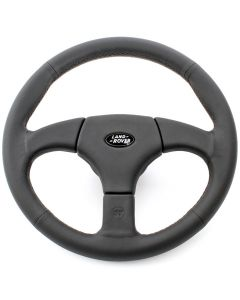 Startech Defender Steering Wheel with silver stitching