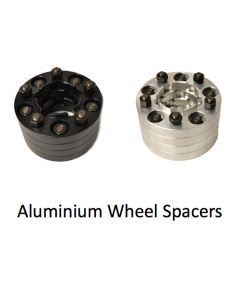 Wheel Spacers 30mm Raw